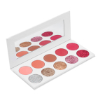 Custom Colors Make Your Own Eye Shadow Pressed Glitter Eyeshadow Palette Private Label