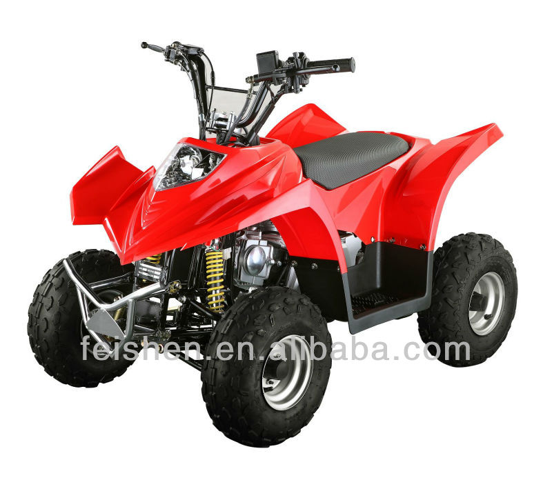 49cc mini atv with gas and electric version ATV with Locin engine 110cc chain drive ATV (FA-A90)