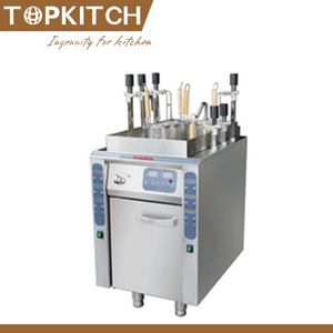 Stainless Steel 700 Series Commercial Gas/Elecric Pasta Cooker On Cabinet With 12 Baskets