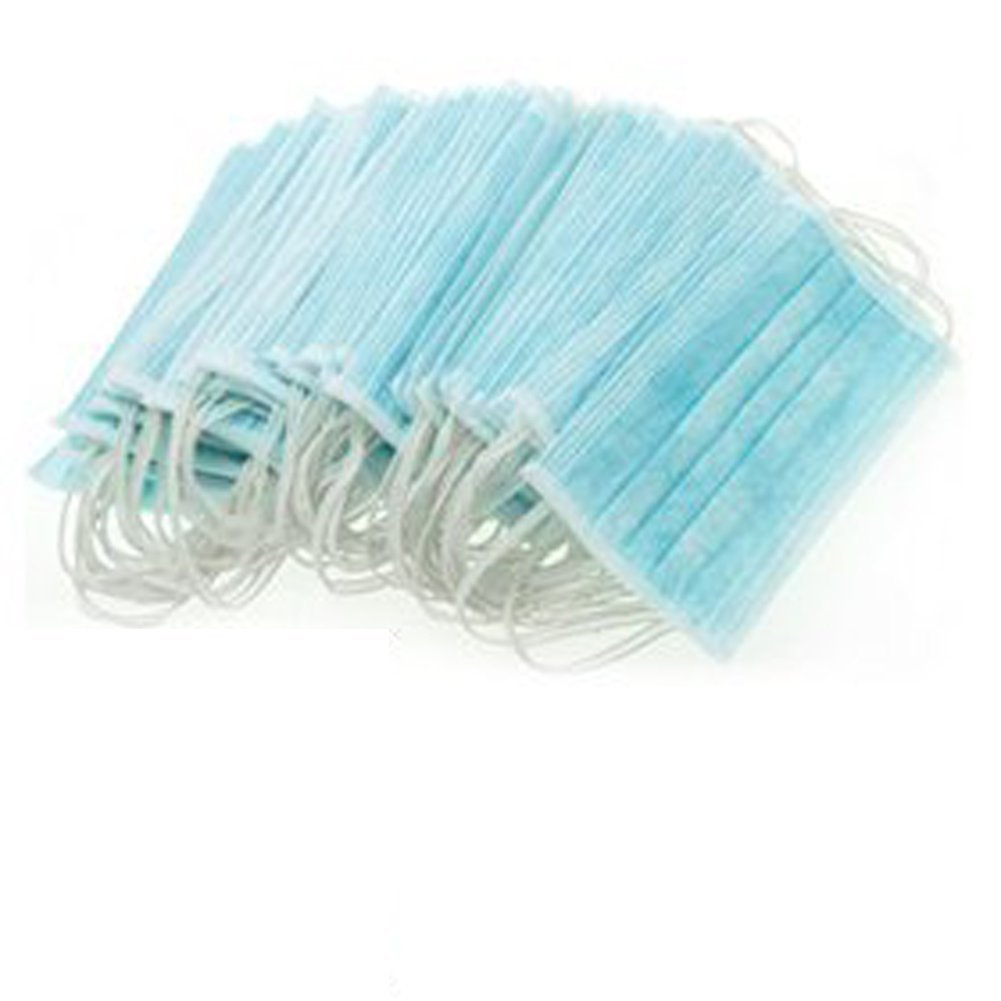 Buy Asher Disposable Blue Surgical Dust Filter Mouth Cover Beauty ...