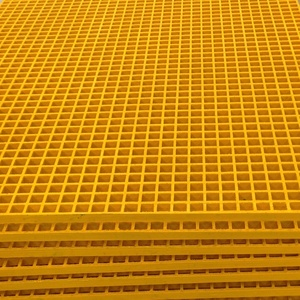 Fiberglass Reinforced Polyester FRP Gritted Grille