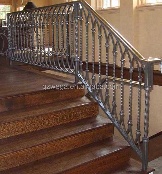 الوان درابزين cast iron stairs handrail with colors درابزينات وحواجز معرف المنتج  الوان درابزين