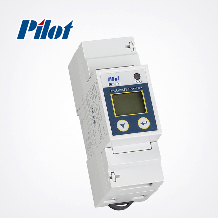 PILOT SPM91 Modbus DIN Rail with RS485 single phase smart Electronic energy <strong>meter</strong>
