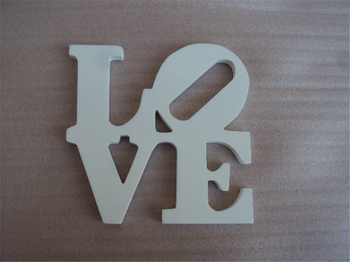 Home And Wedding Decoration Love MDF Letters