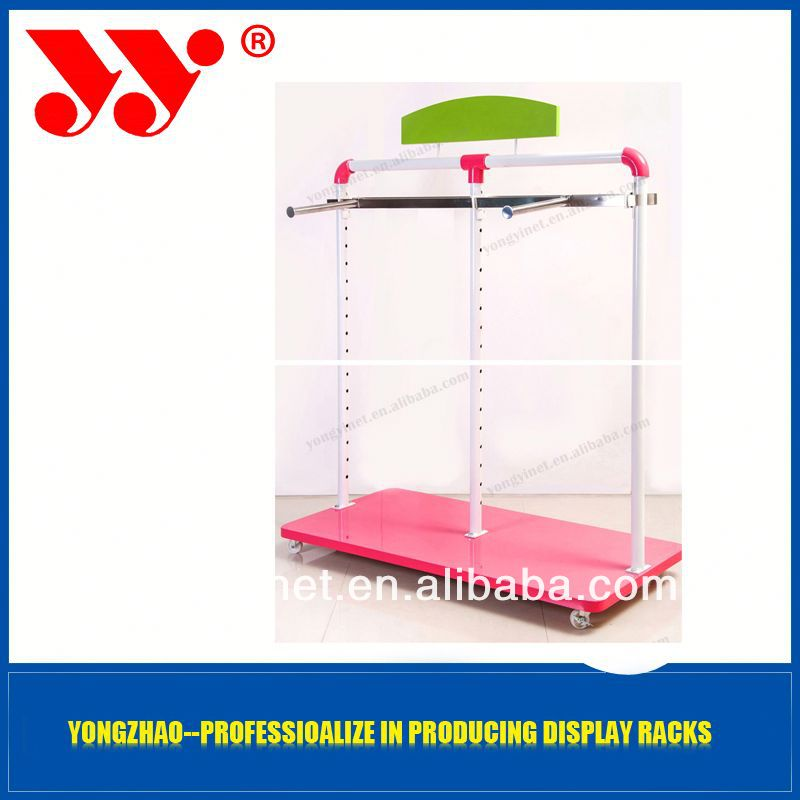 metal spinning display rack with wonderful design