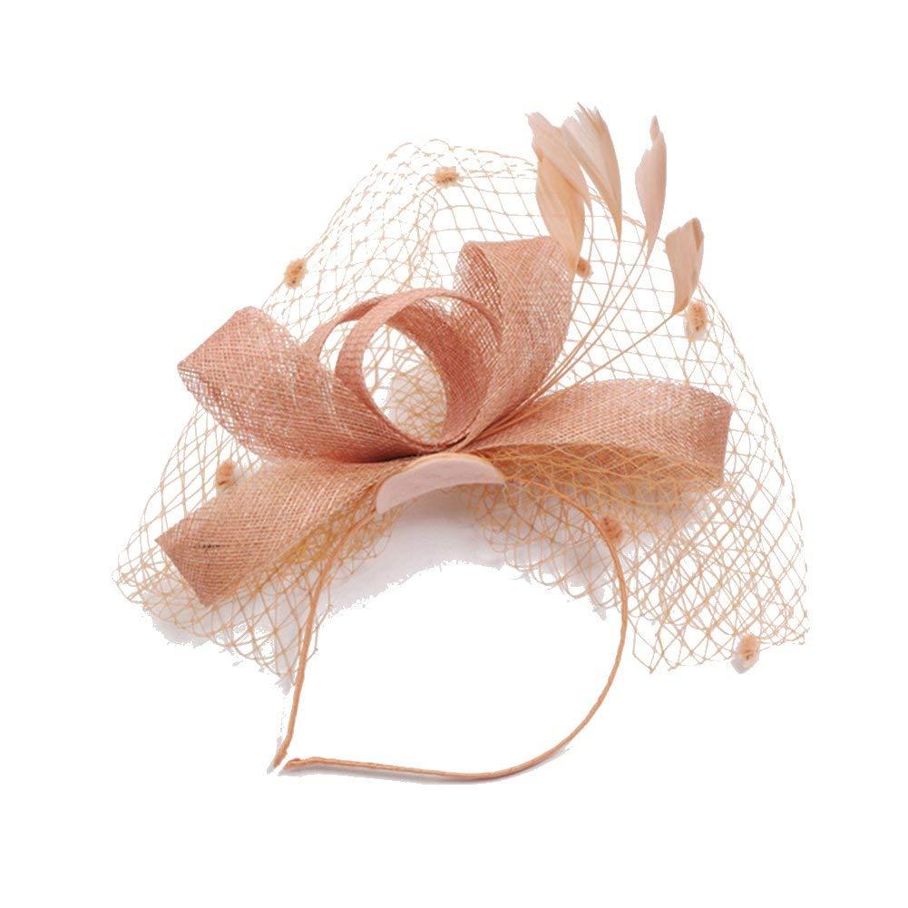 674f3d646ca Get Quotations · RAGAN Bridal Fascinator Hat