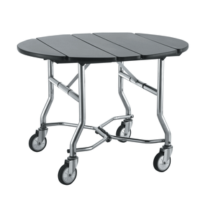 Hotel Room Folding Food Service Trolley / Food Service Cart