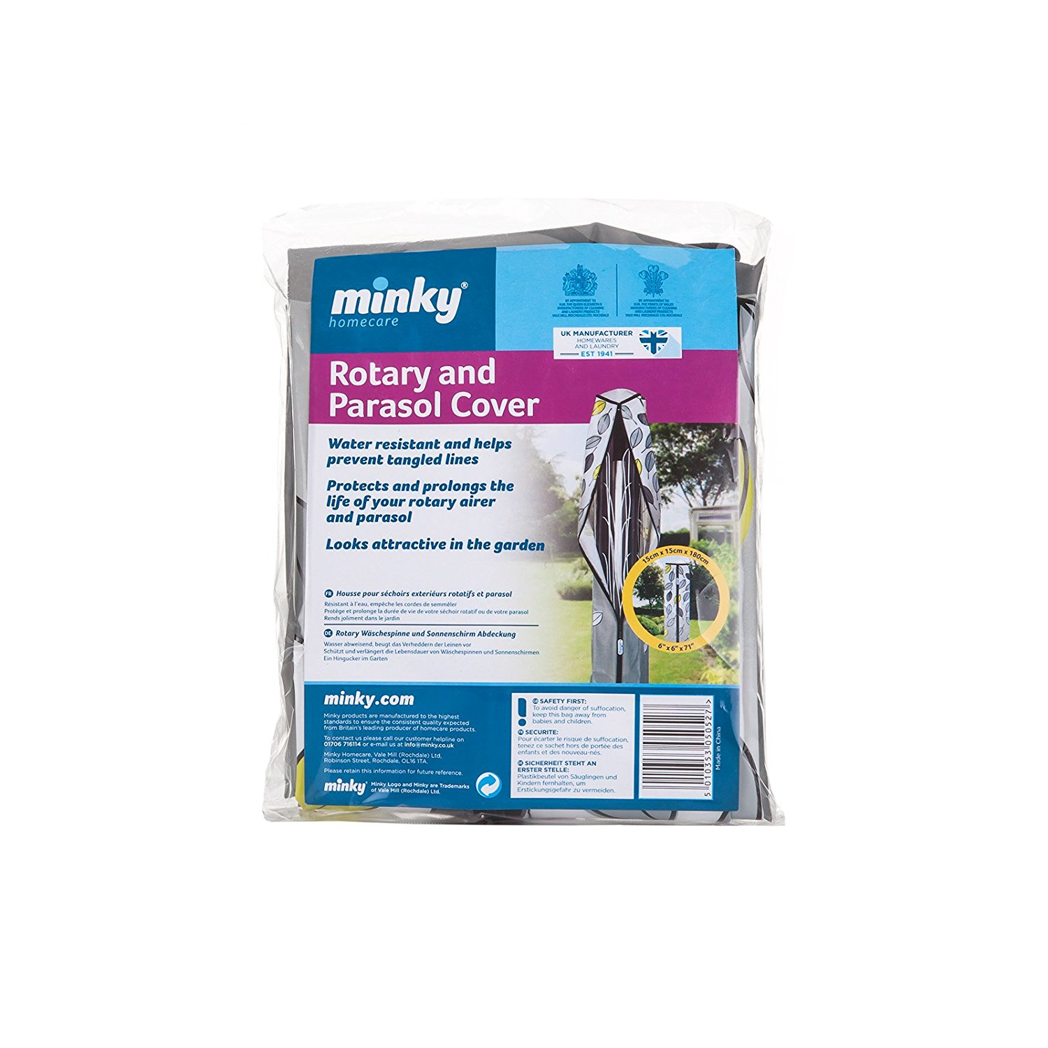 Minky Pebbles Rotary Dryer Cover, Fits Minky Classic, Rotalift and Rotalift Plus