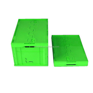 Cheap Plastic Solid Storage Moving Folding Box