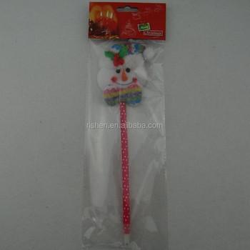 hot sell snowman pen handmade christmas crafts unique primitive christmas crafts - Primitive Christmas Crafts