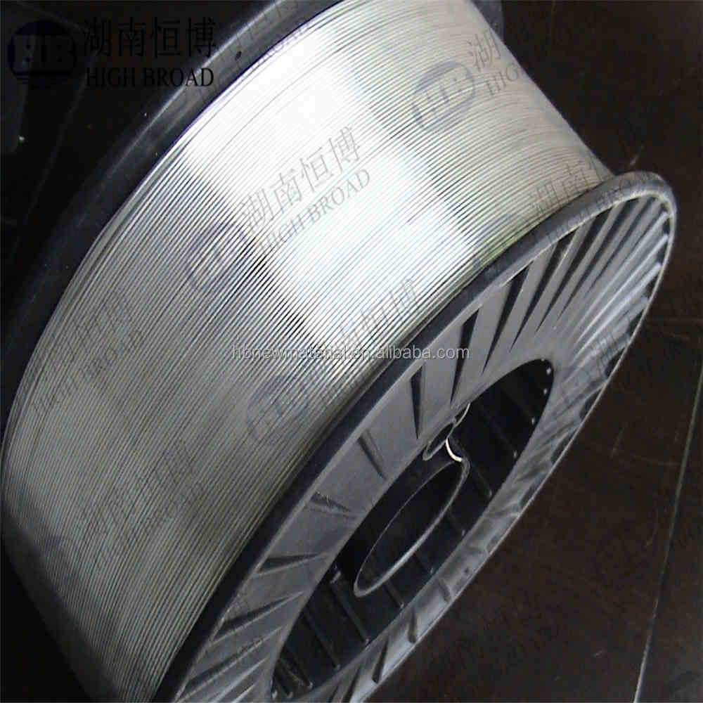 magnesium welding wire AZ31 AZ61 99.9% Mg wire