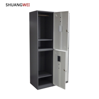 3 Door Steel Living Room Wardrobe