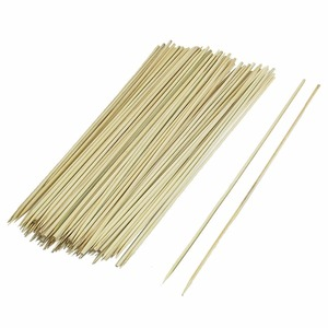 4.0x300mm round strong bamboo skewer sticks with very sharp tip