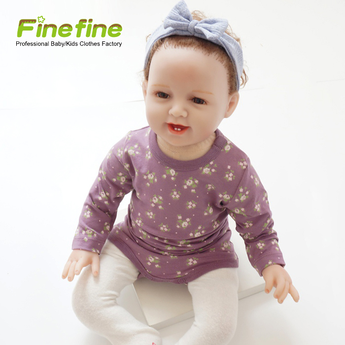 Long Sleeve Fancy Cute Baby Romper For Newborns Wholesale Baby Jumpsuit Baby Clothes
