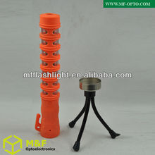 Emergency baton light led road flare