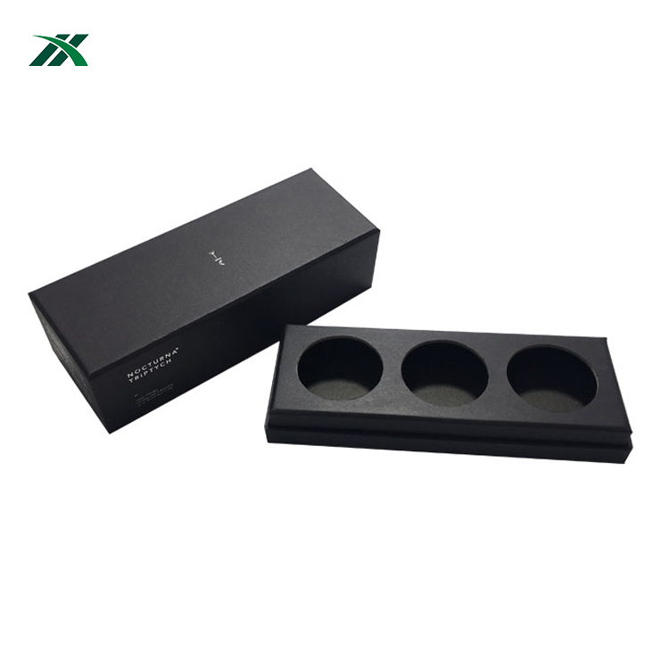 Custom Printing Rectangle Cemetery Candle Collection Packaging Box