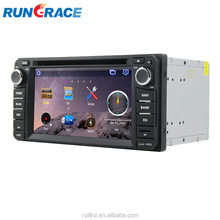 Wince 6.0 CAR Radio DVD 2 din 6.2 inch touch screen with GPS,Bluetooth