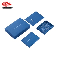 Square Shape Special Design Custom Rigid Paper Gift Box Silk Luxury Material Scarf Packaging