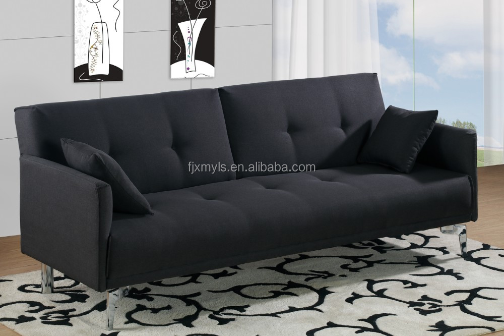 Merveilleux New Arrival Futon And Click Clack Sofa Bed With Two Pillow   Buy High  Quality Folding Bed,Used Sofa Beds,Futon Sofa Cum Bed Product On Alibaba.com