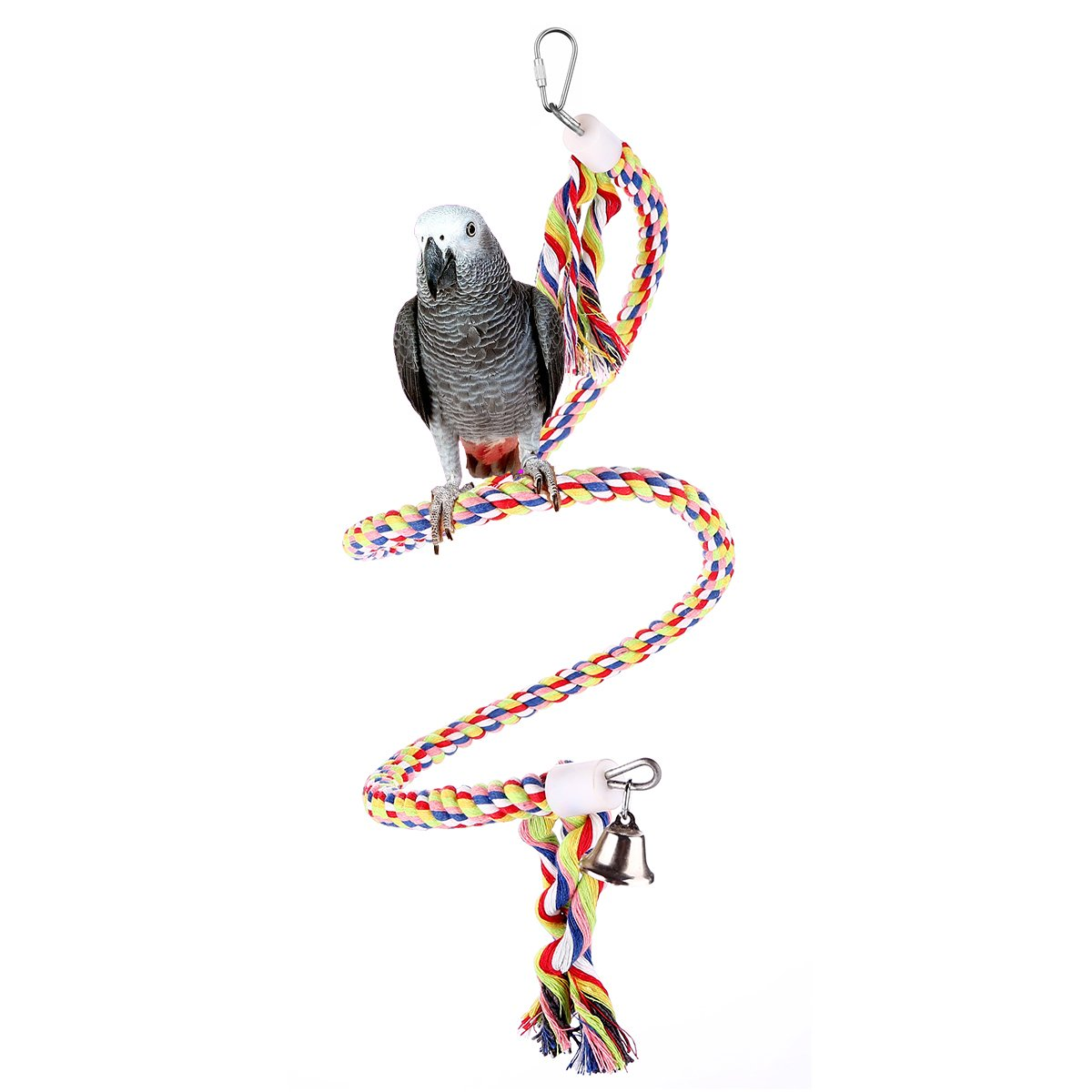 Popular Brand 10pcs Parrot Rattan Ball Toys Pet Bird Chewing Toys Hanging Cockatiel Parakeet Climb Chewing Cage Birdcage Decor Pet Supplies Complete Range Of Articles Home & Garden