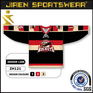 Mens 100% polyester custom mesh custom full sublimation printing ice hockey jersey made own team hockey hoody