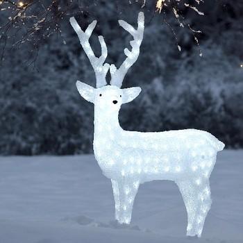 led acryl herten kerst verlichting rendier beeldjes voor acryl kerstversiering