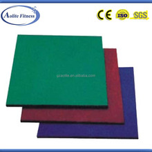 Red safety pad/rubber floor mat/gym rubber floor mat (ALT-8811B)