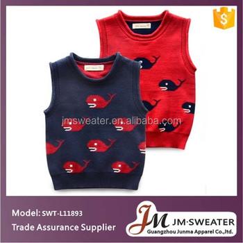 Bio-baumwolle Baby Kleidung Kinder Stricken Fisch Muster Pullover ...