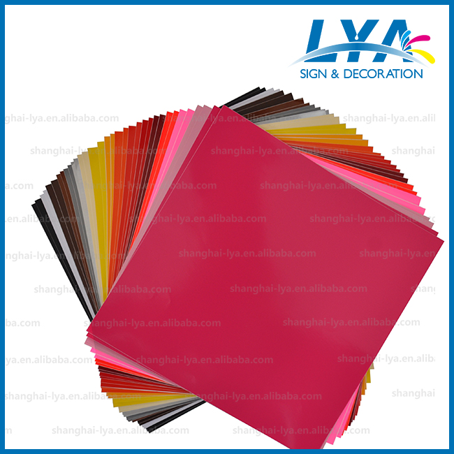 High quality Adhesive vinyl sheets Car Decal color Matte Vinyl Sheet For Car / Phone / Laptop