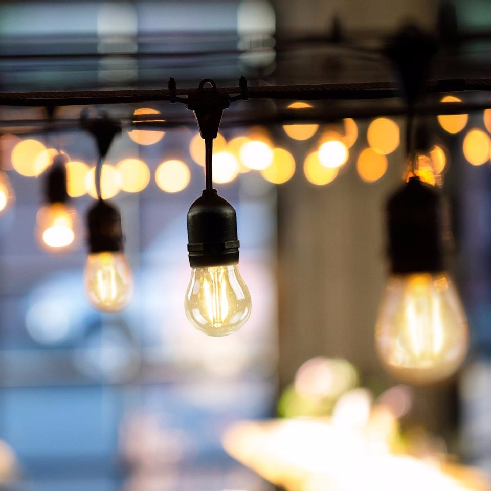 Hot Pendant Edison Bulb String