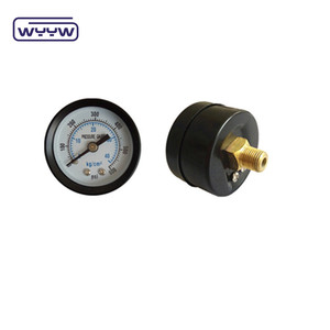 "bar psi 2"" 100psi axial pressure gauge"