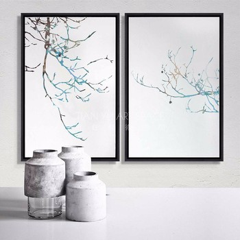 Nature Pictures For Drawing Scenery Framed Painting Hotel Decorative ...
