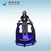 Exciting Amusement Ride Vr Standing Simulator 9d vr free battle interactive game
