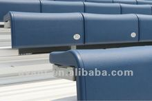 fixed colorful fade-proof plastic sports stadium seat,bleacher,tribune for indoor,outdoor sports events use