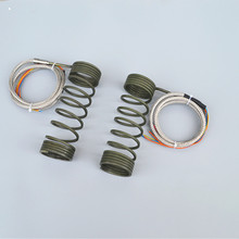 flat spiral hot runner heating coil