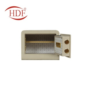 Hot selling hotel intelligent high safety wall mounting mini digital electronic car safe box