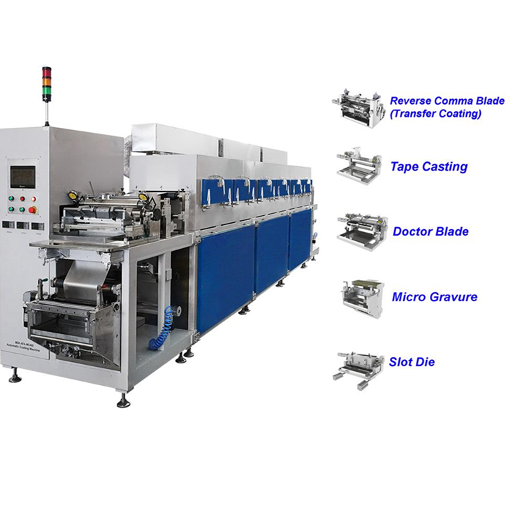 Production Lithium Battery Automatic Transfer Film Coater Machine For Electrode Coating