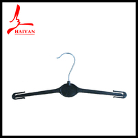 HY1082 eco friendly plastic hanger Flocked Colorful kid hanger wholesale