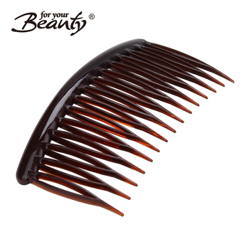 Tortoise Color Home Use Woman Hair Clip Side Teeth Comb Buy Teeth