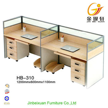 Modern Office Design Two Person Workstation