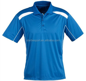 Wholesale 100 polyester brand polo men golf shirts
