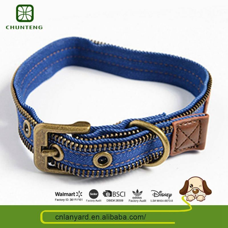 Customizable Simple Design Portable Dog Product Leather Collars Big Dogs