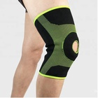Aofeite New Design Elastic N Cloth knee sleeve support brace with open Patella