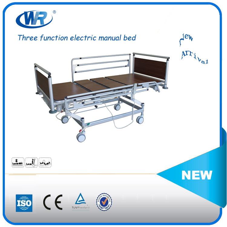 rejustable easliy good quality HPL automatic and electric old people home care bed