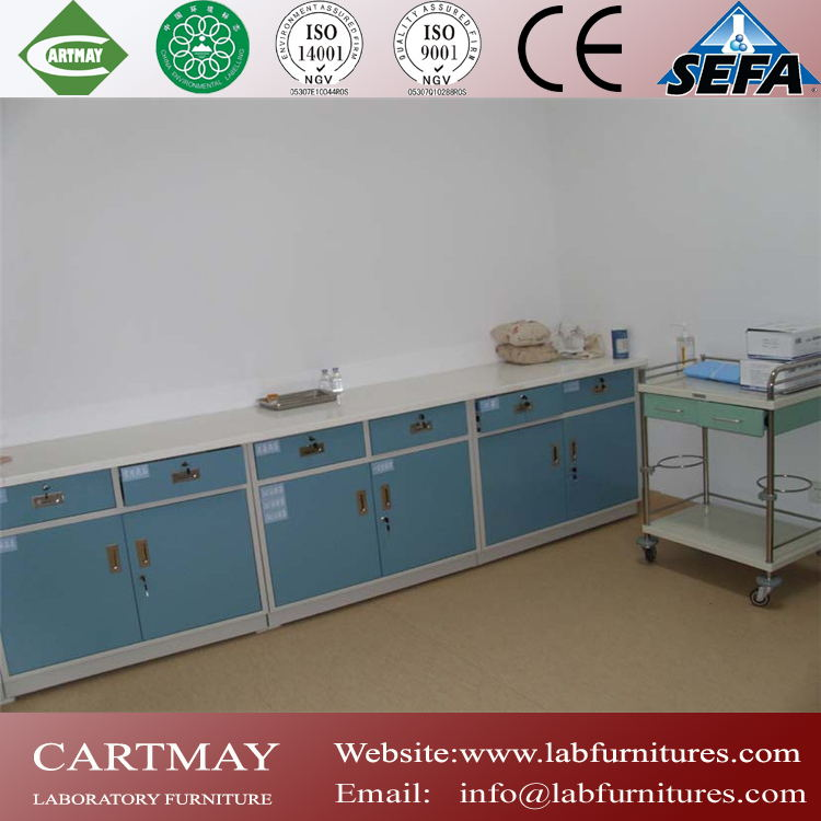 high quality medical lab/laboratory furniture, steel medical lab/laboratory casework with sink
