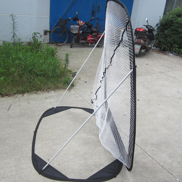 Poray new product pop up baseball softball practice net for Indoor cricket net design