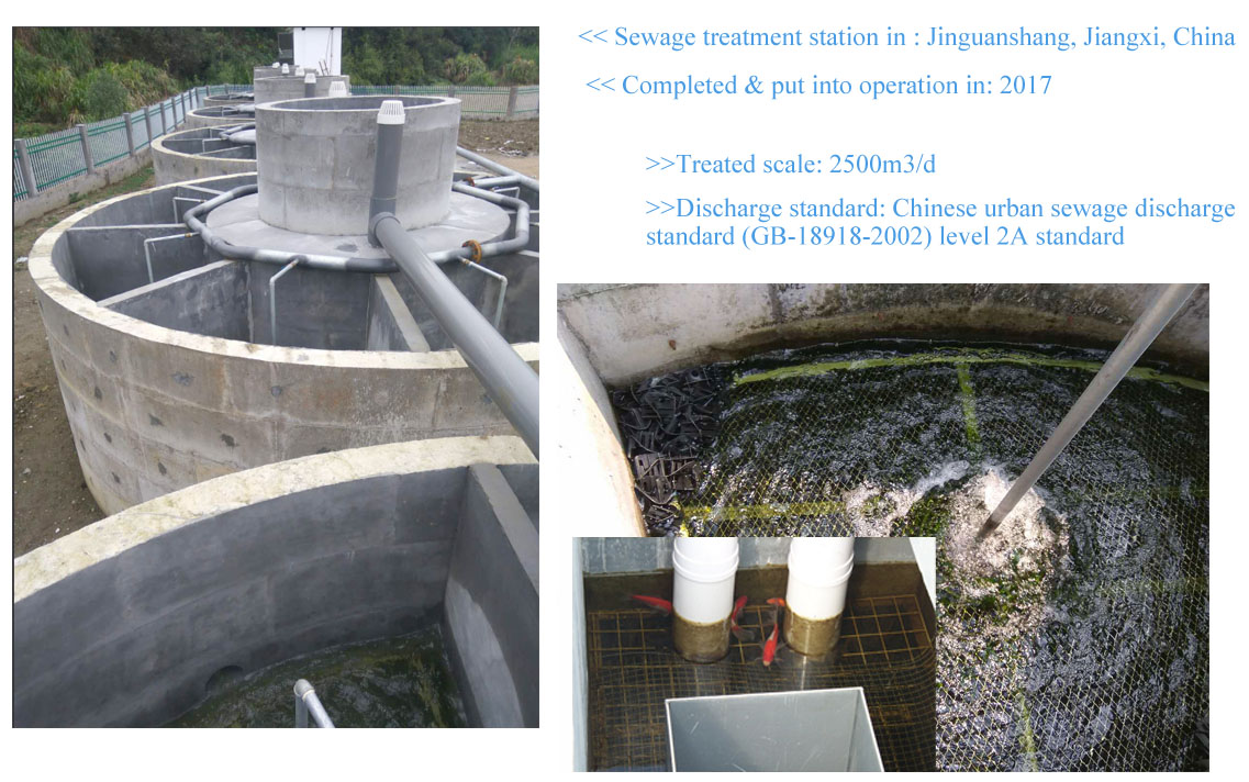 Domestic Waste Water Landfill Leachate Sewage Treatment Plant