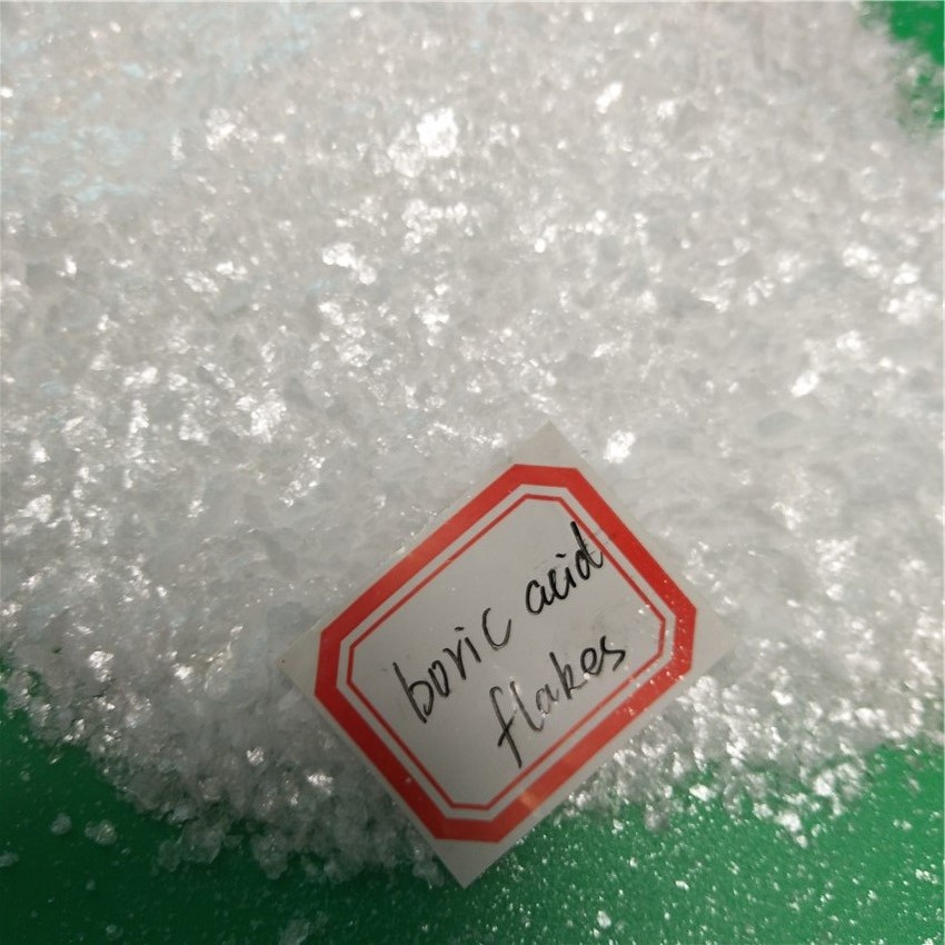with Gloss Crystallization Magic Fish Scale Flakes Boric Acid 99.5%min