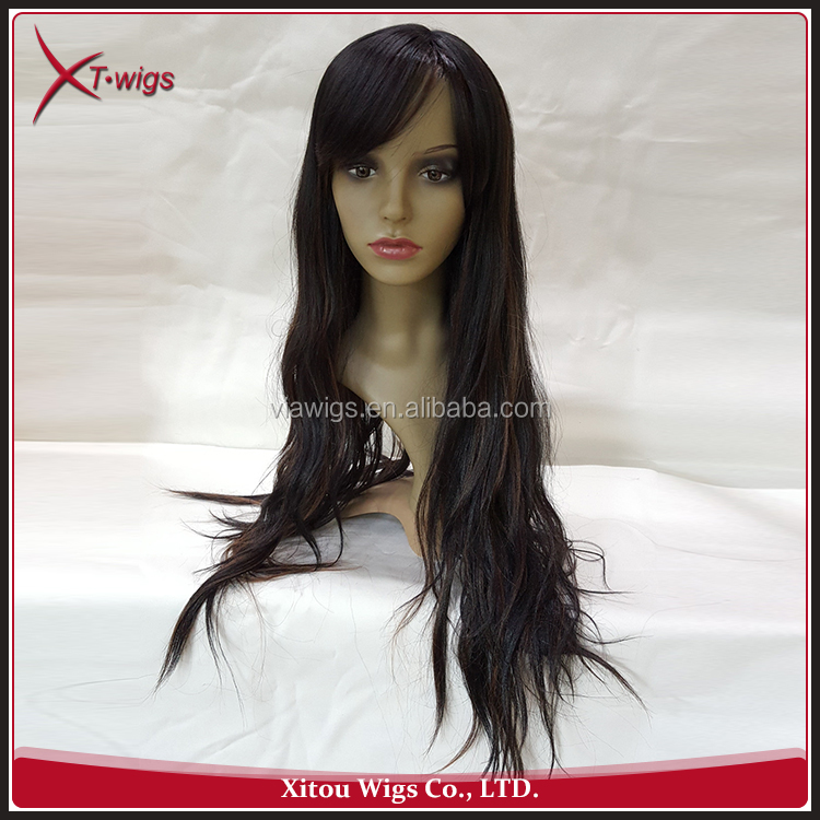 Hot Selling Natural Like Human Hair Ombre Lace Front Wig