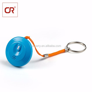 ABS Anti Lost Child Distance Alarm BT Low Energy Push Button With Keychain